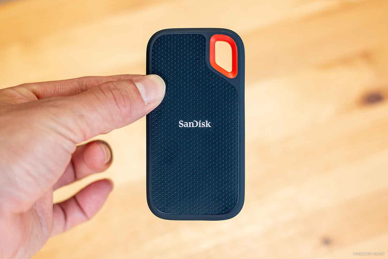 サンディスクのポータブルSSDの小ささ