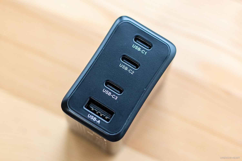 CIOの4ポート充電器