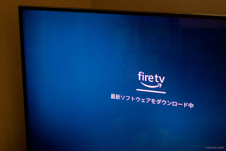 Fire TV Stickのセットアップ画面