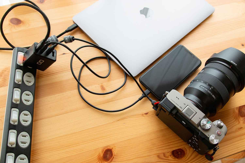 充電器とデバイス