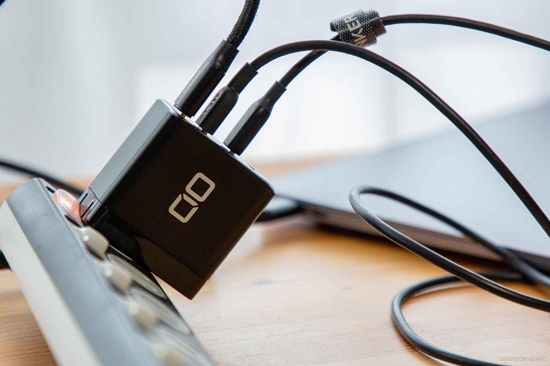 CIO-G65W3C1Aで3ポート同時充電器