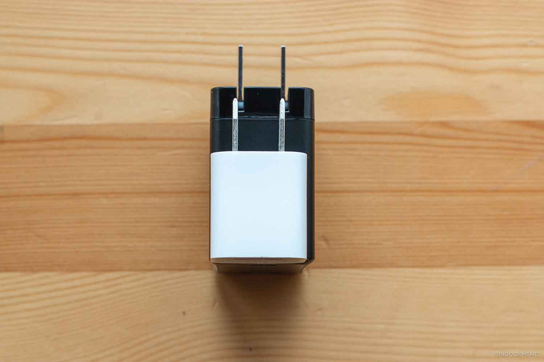 CIO-G65W3C1AとiPhone付属充電器