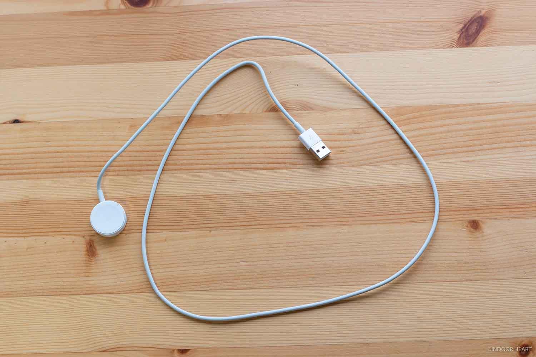 Apple Watchの充電器1m